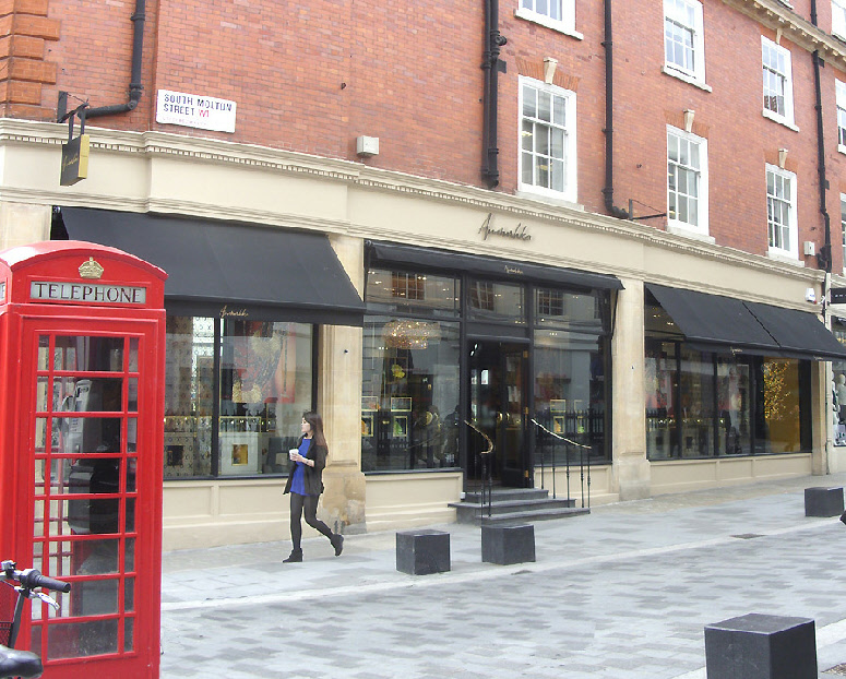 Annoushka jewellery shop in London's Mayfair