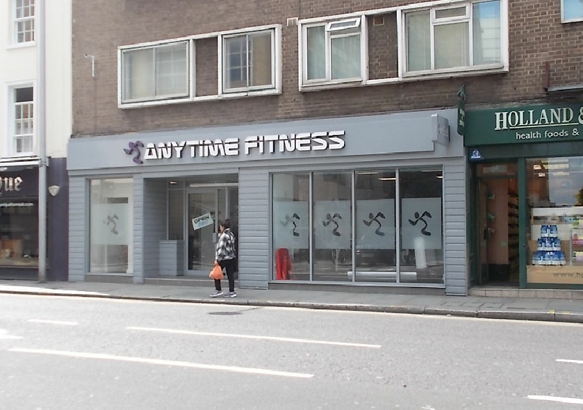 Anytime Fitness gym in London's Chelsea