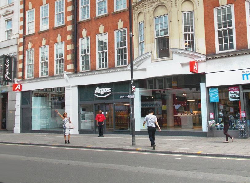 Argos catalogue shop on London's Tottenham Court Road
