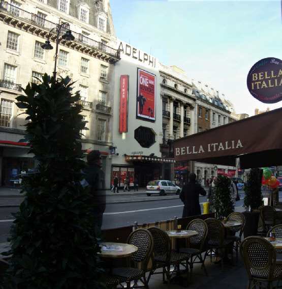 Bella Italia restaurant on the Strand