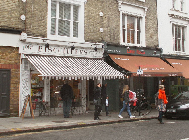 Biscuiteers cake shop in London's Notting Hill