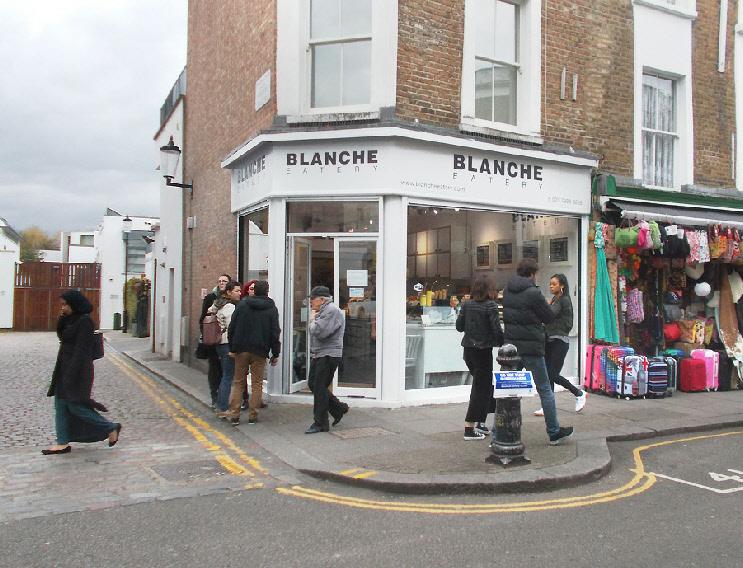 Blanche Eatery on London's Portobello Road