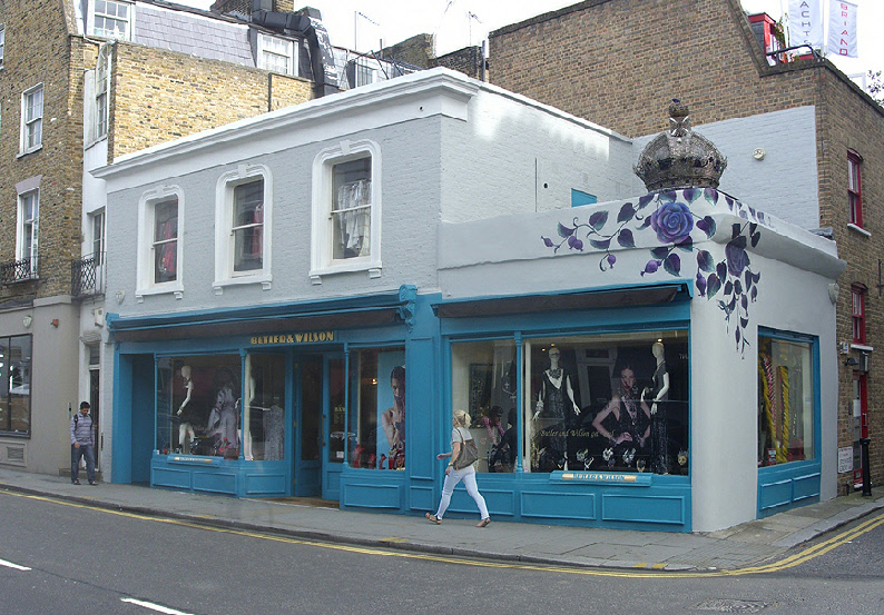 Butler and Wilson jewellery shop in London