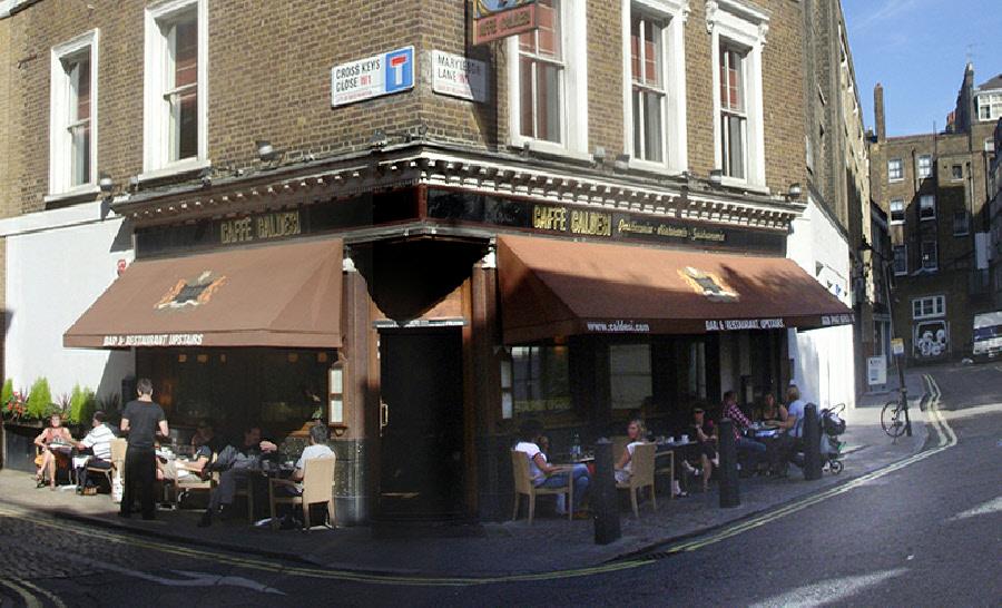 Caffe Caldesi on Marylebone Lane