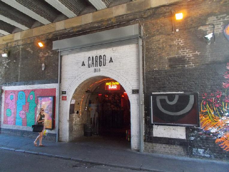 Cargo nightclub in London's Shoreditch