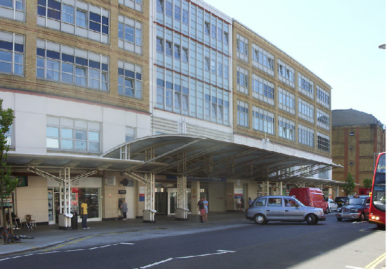 Chelsea and Westminster hospital on London's Fulham Road.