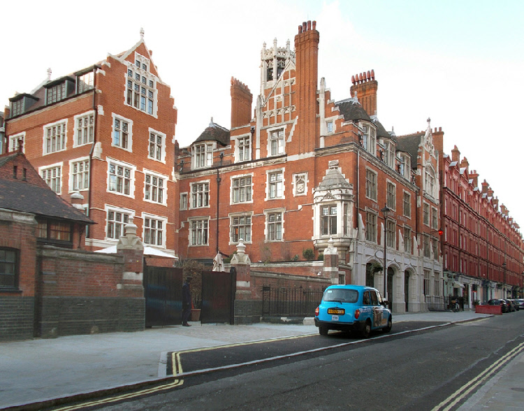 Chiltern Firehouse Hotel in London's Marylebone