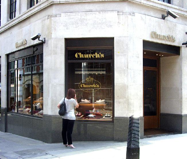 Church's shoe shop on Jermyn Street in London