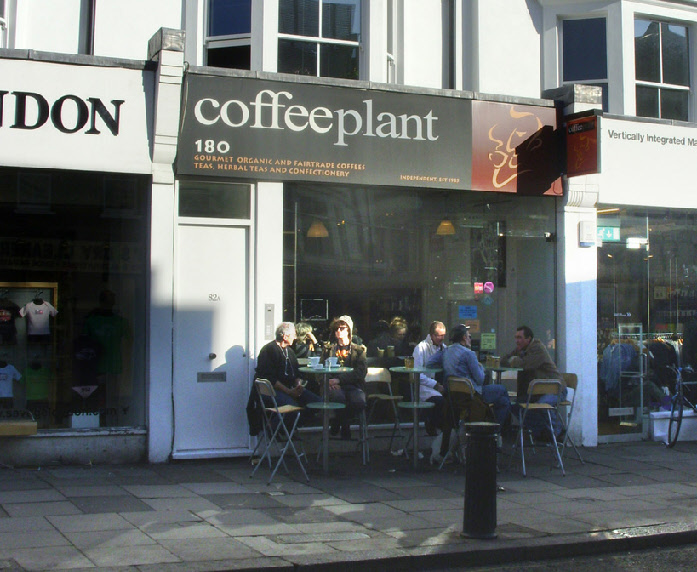 Coffee Plant on Portobello Road