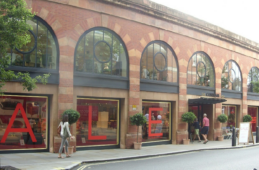 The Conran furniture shop in London's Marylebone