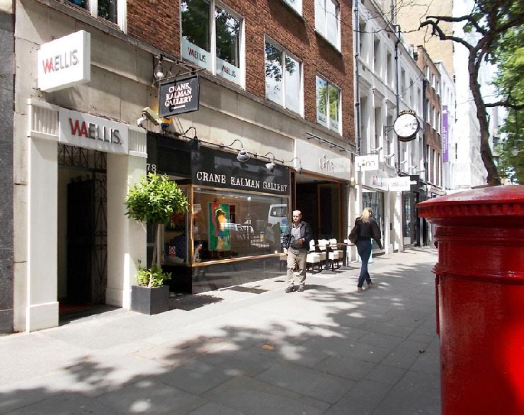 Crane Kalman art gallery in London's Knightsbridge