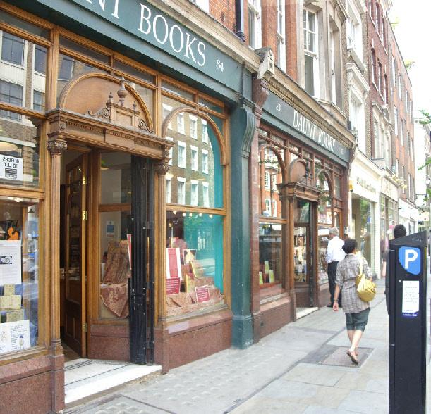 Daunt Books Marylebone High Street