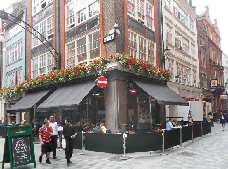 Dehesa tapas bar and restaurant in London's Carnaby