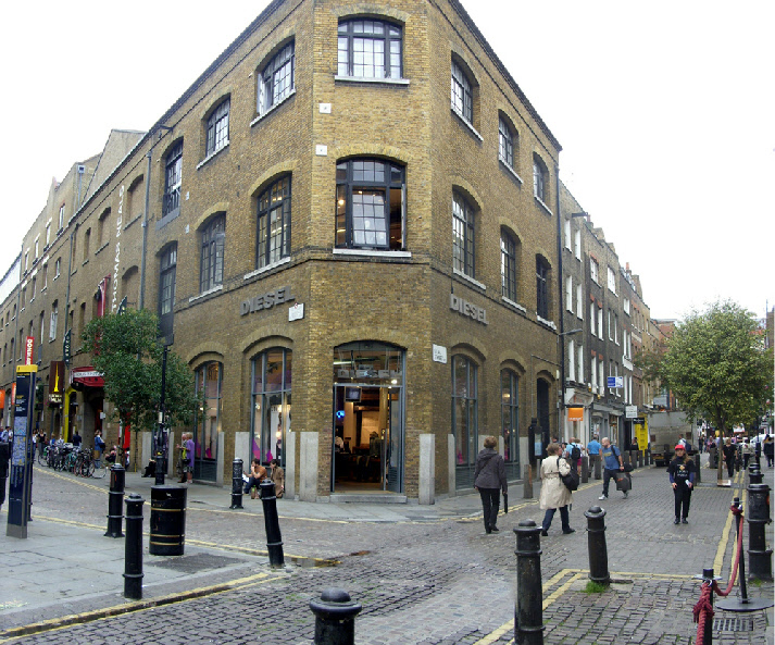 Diesel store at Seven Dials Covent Garden