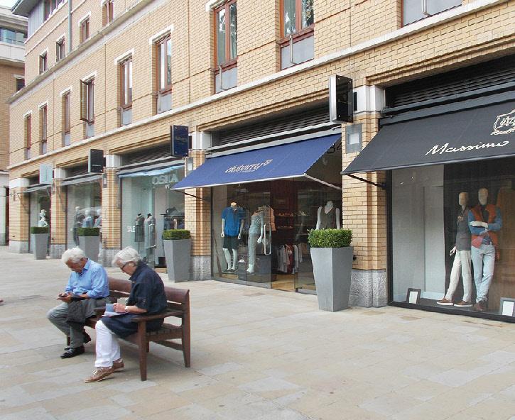 Dubarry clothing shop in Chelsea's Duke of York Square