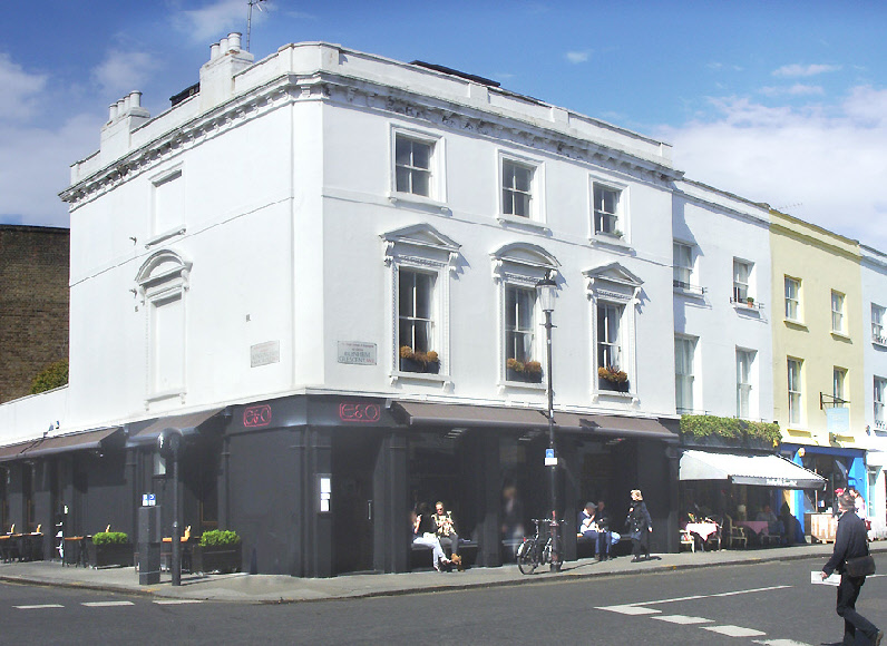 The E and O restaurant in London's Notting Hill.