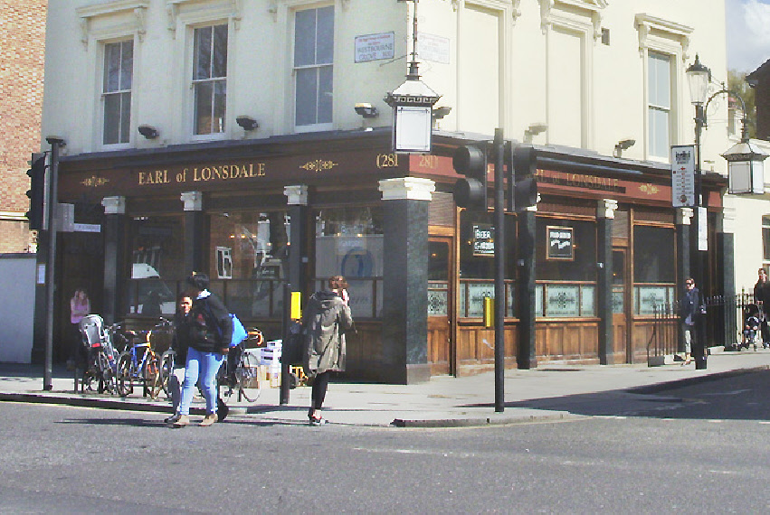 Earl of Lonsdale pub in London's Notting Hill