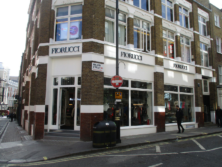 Fiorucci fashions shop in London's Soho