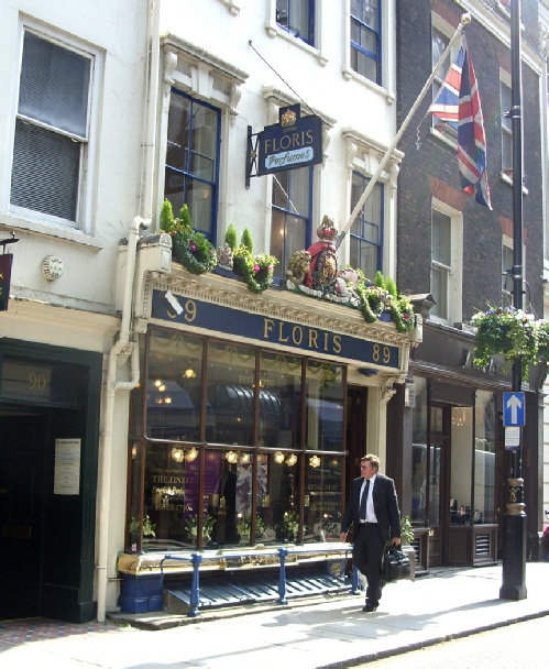 Floris on London's Jermyn Street
