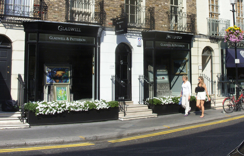 Gladwell and Patterson art gallery in London's Knightsbridge