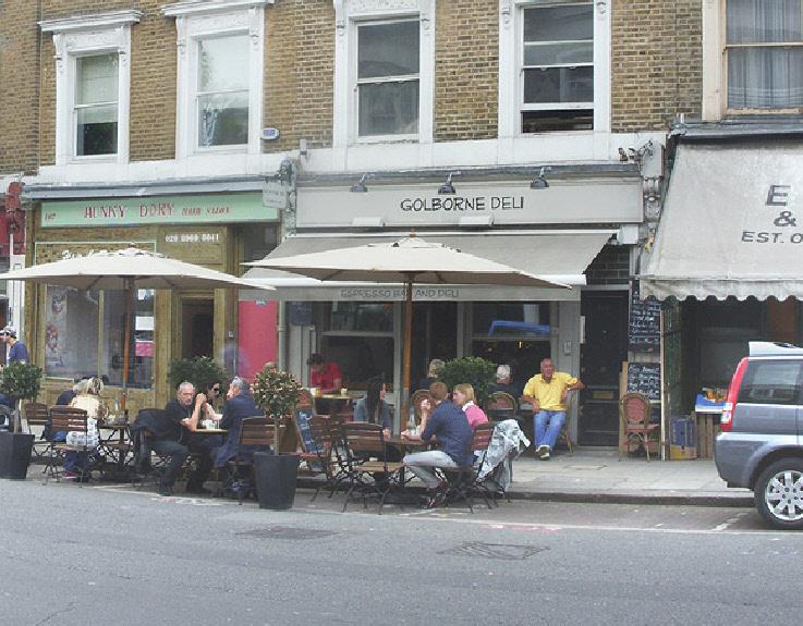 Golborne Deli on London's Golborne Road