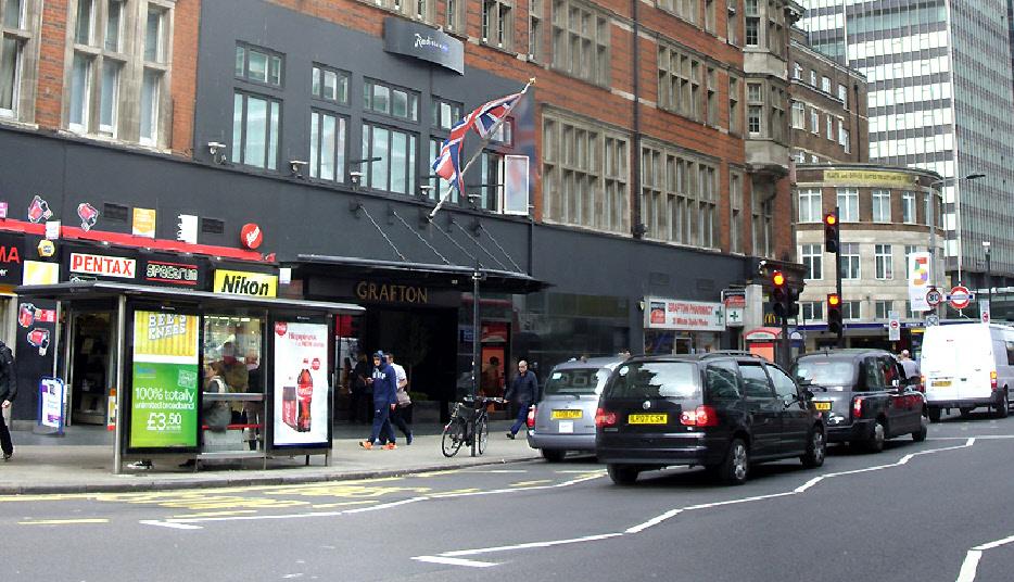 Grafton Hotel in London's Fitzrovia