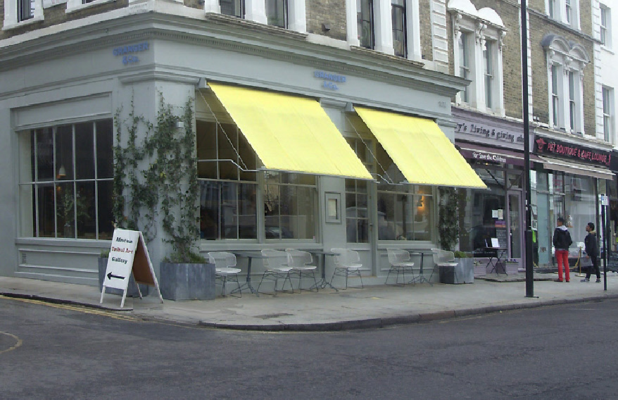 Granger and Co. restaurant on Westbourne Grove in London's Notting Hill