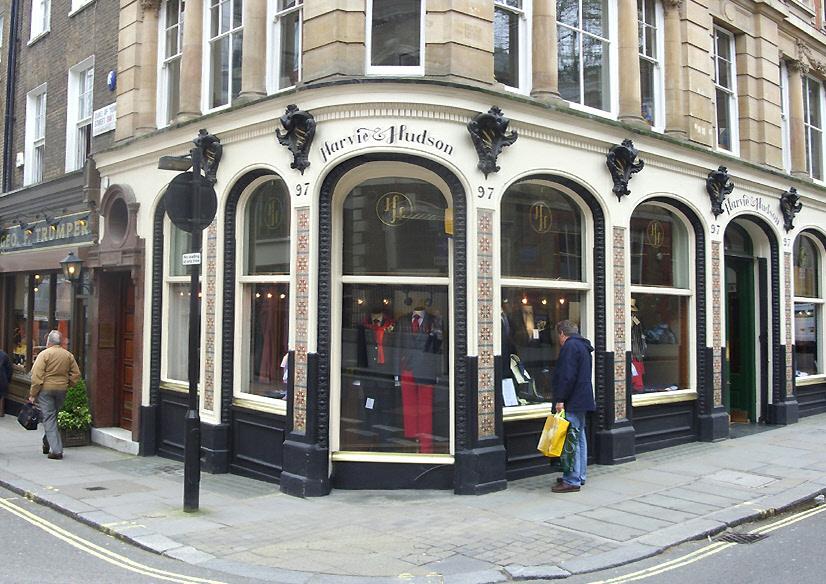 Harvie and Hudson on London's Jermyn Street