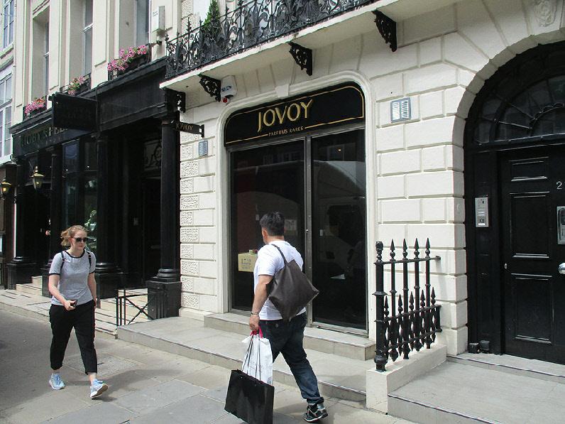Jovoy perfume shop in London's Mayfair