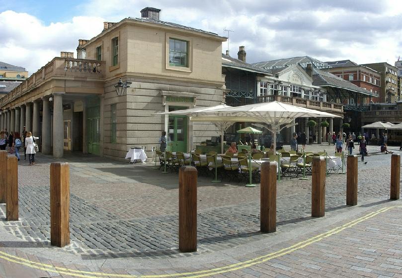 Laduree Tea Rooms in London's Covent Garden