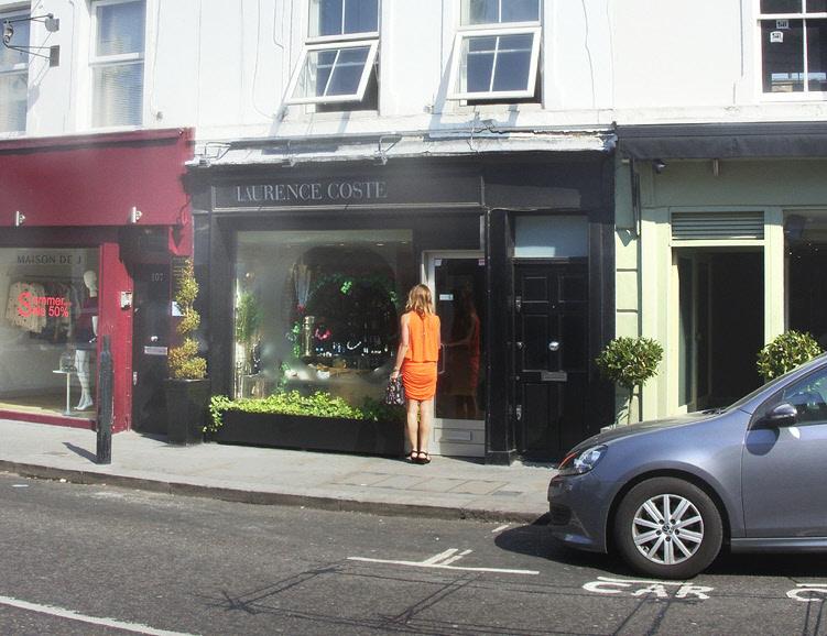 Laurence Coste jewellery shop in London's Knightsbridge