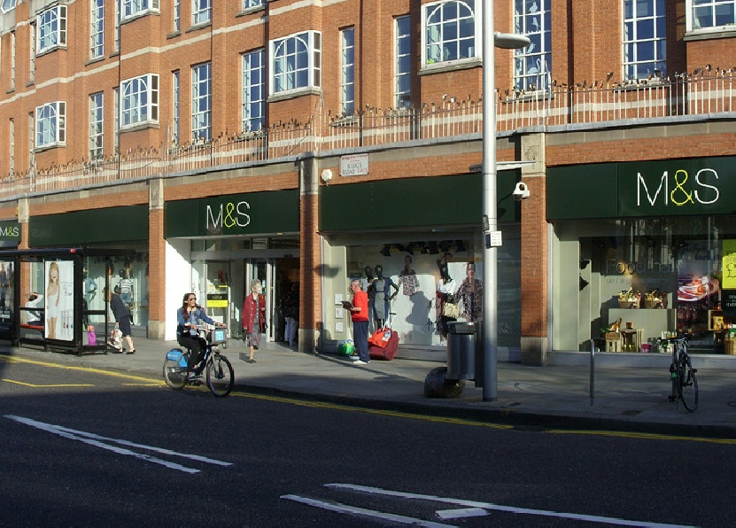 Marks and Spencer store on King's Road in Chelsea