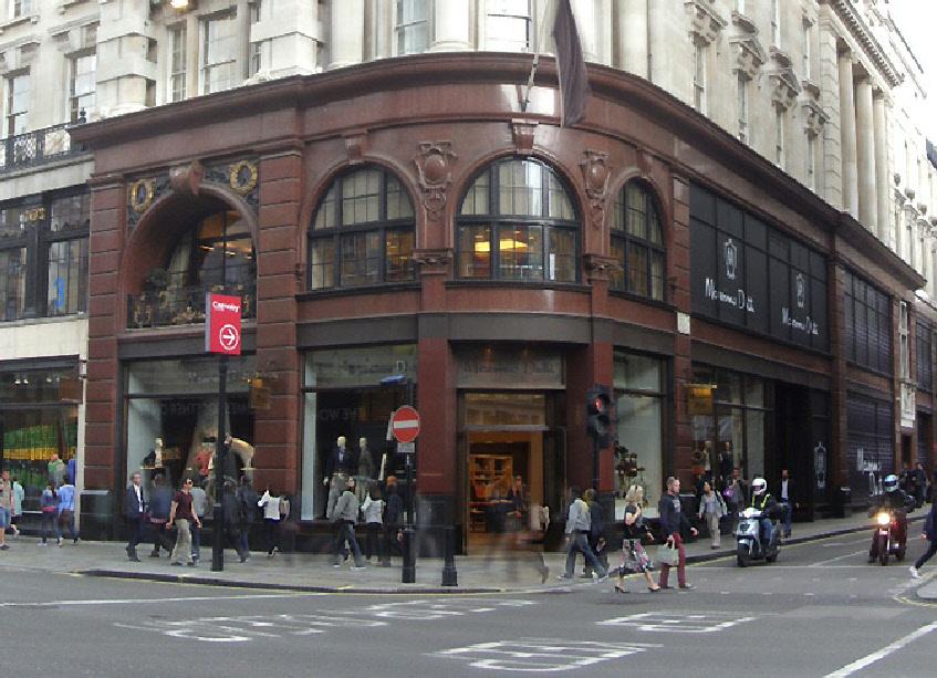 Massimo Dutti on London's Regent Street