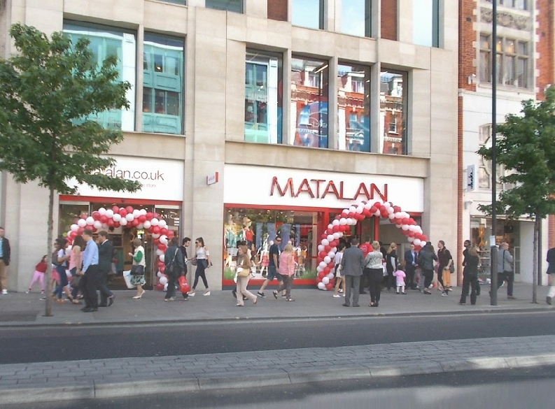 Matalan shop on London's Oxford Street