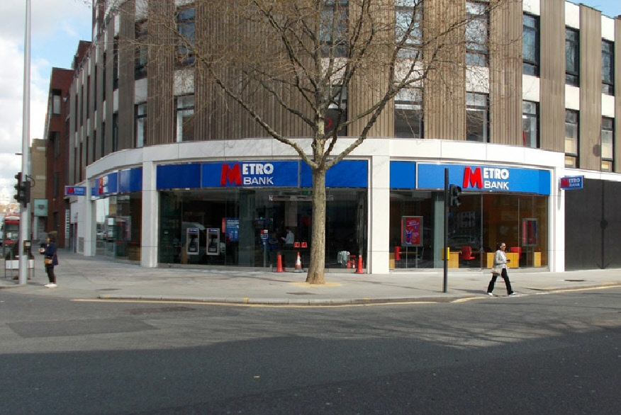 Metro Bank on Chelsea's King's Road
