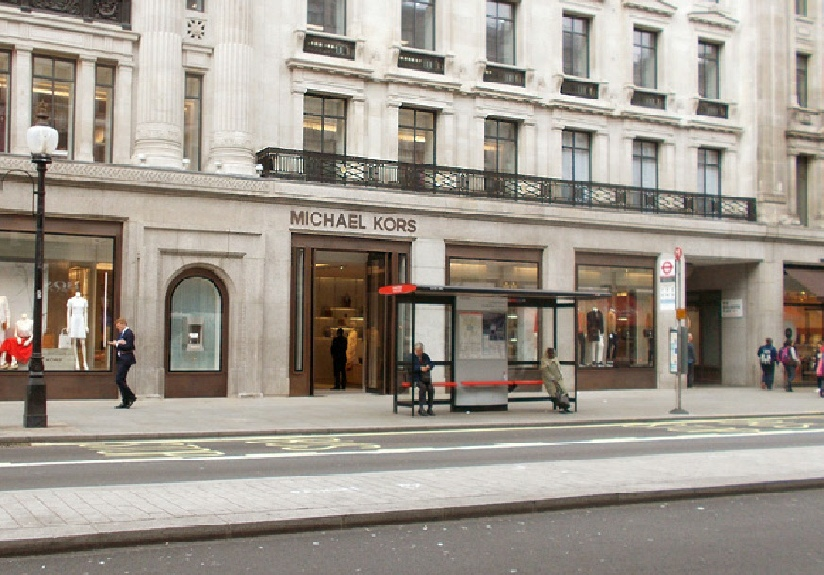 Michael Kors store on London's Regent Street