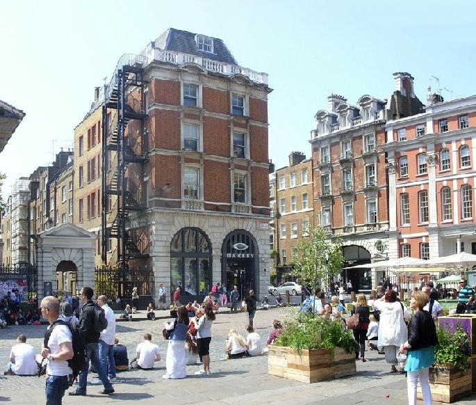 Oakley shop in London's Covent Garden