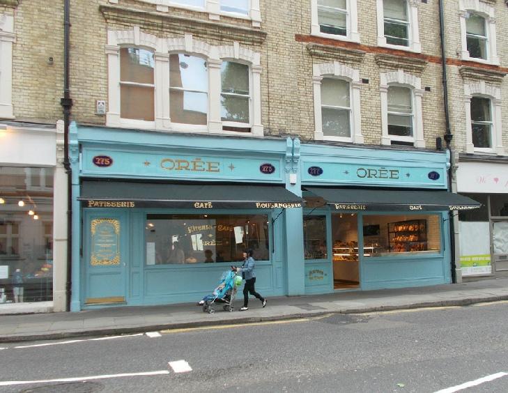 Claudia Sebire womenswear shop in London's Chelsea