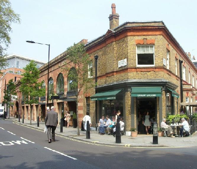 Orrery Epicerie on London's Marylebone High Street