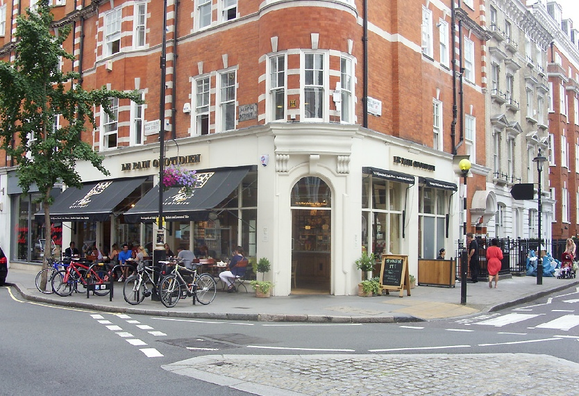 Le Pain Quotidien cafe and bakery in Marylebone
