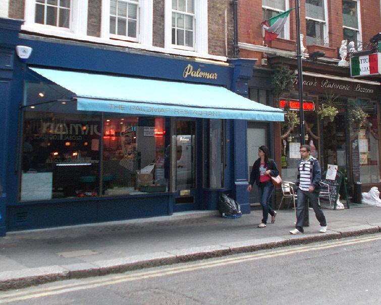 Palomar restaurant in London's Soho
