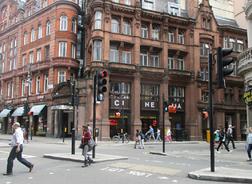 Picturehouse Cinema on Shaftesbury Avenue in London