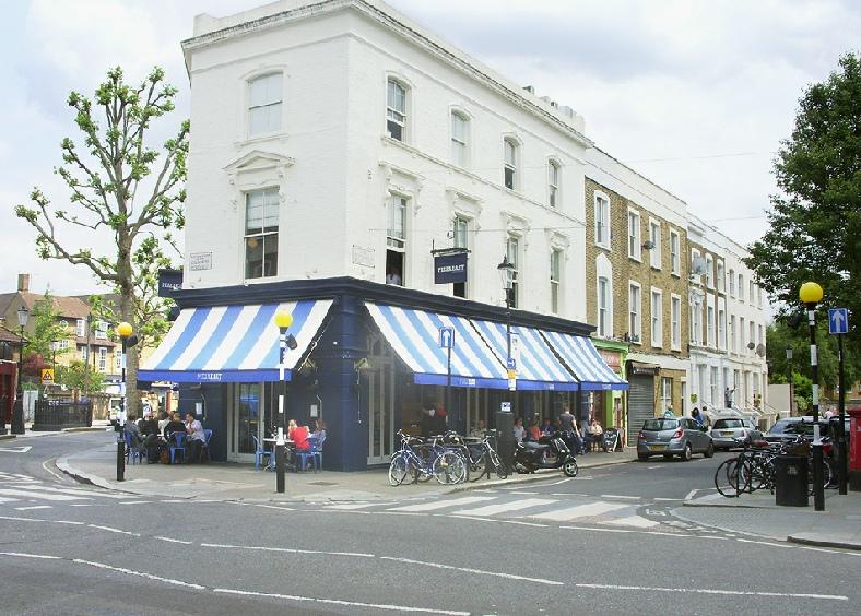 Pizza East restaurant in London's Portobello