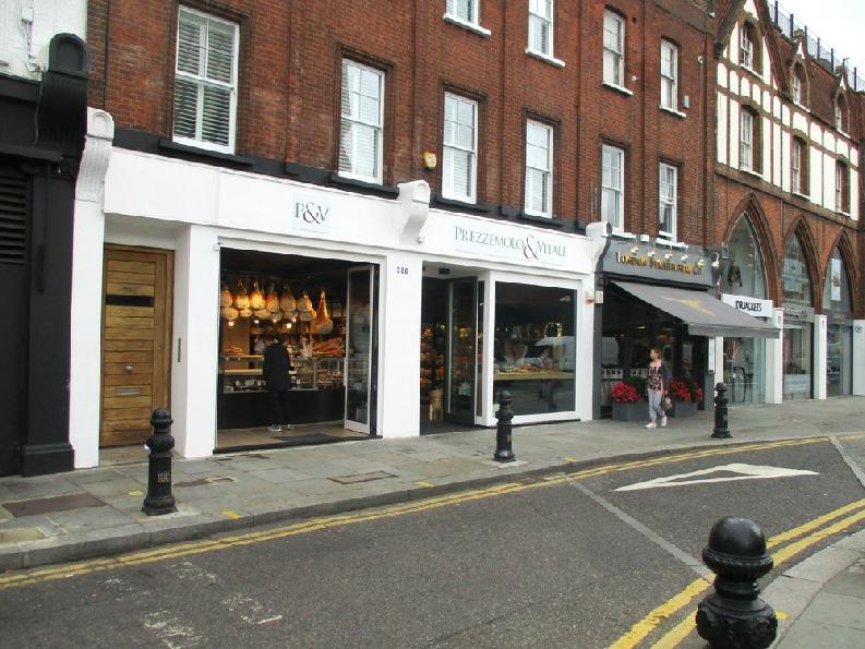 Prezzemolo and Vitale Sicilian supermarket and deli in London's Chelsea