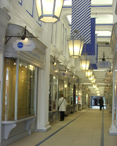 Princes Arcade on London's Piccadilly
