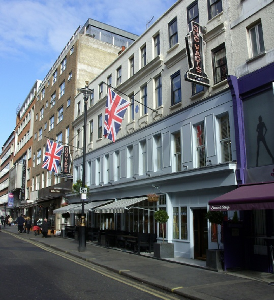 Quo Vadis restaurant in London's Soho