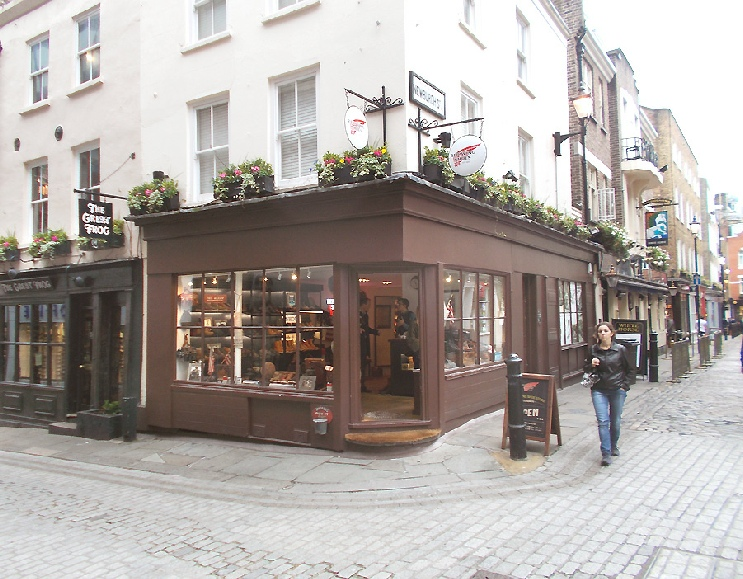 Redwing boots store in London's Carnaby