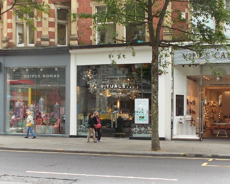 Rituals shop Kensington High Street