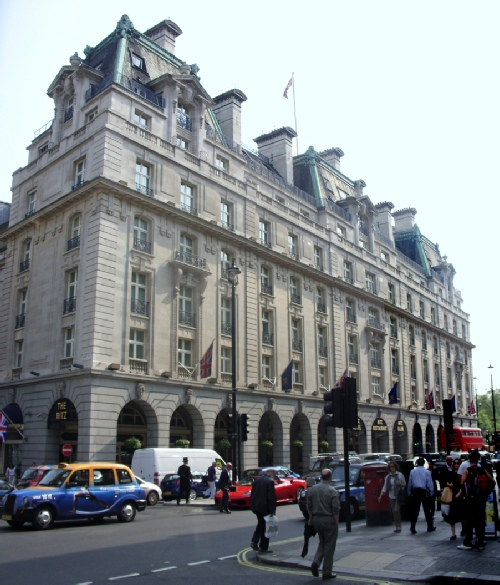 The Ritz Hotel on London's Piccadilly
