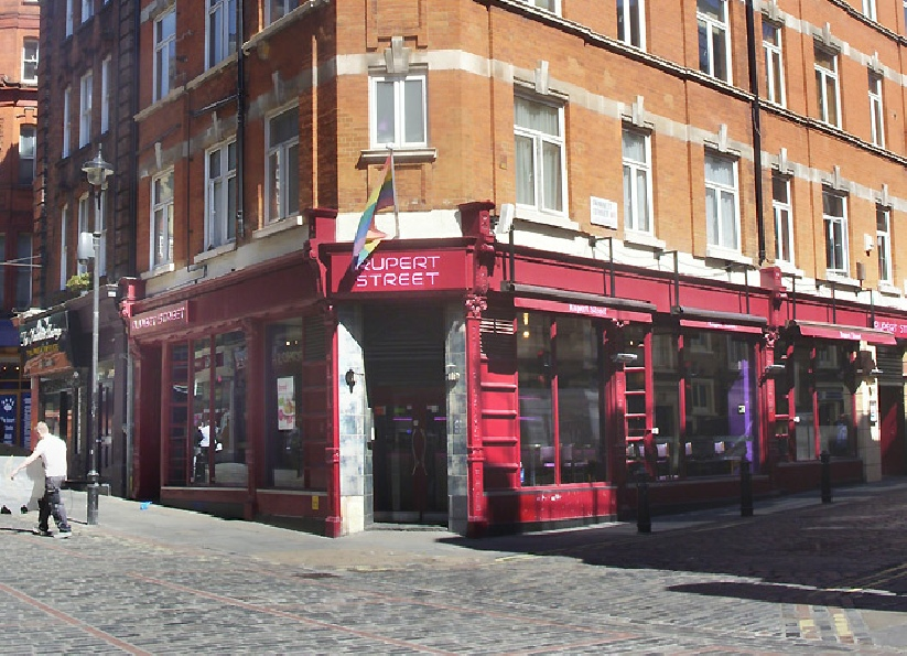 Rupert Street restaurant in London's Soho